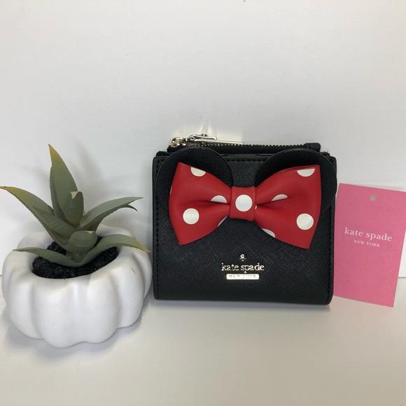 kate spade Handbags - NWT Kate Spade Disney Minnie Mouse Adalyn Wallet